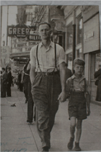 Norman and Ken Heighington